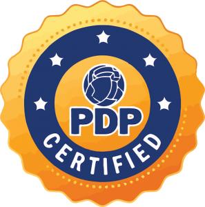 PDP certified logo